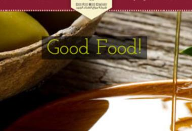 Good food mood website, a company that produces organic oil and dates