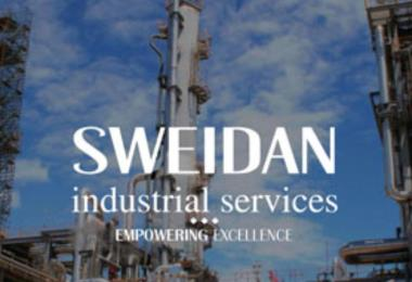 Sweidan industrial website, a website design for an industrial company that works in concrete