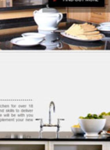 Universal Kitchens website, website design and development for universal kitchens one of the top kitchen factories in Jordan