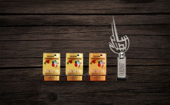 Kensoftware web development  & website design company wins 4 awards