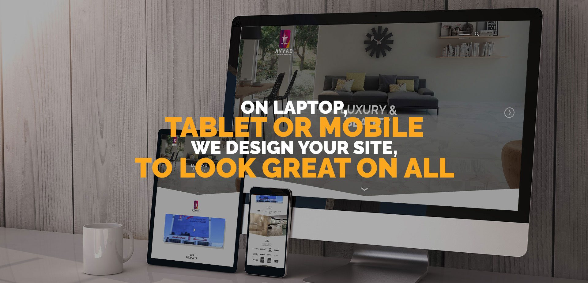 responsive web design and development company in amman, jordan